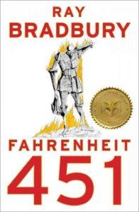 "Cover of Bradbury's ""Fahrenheit 451"""