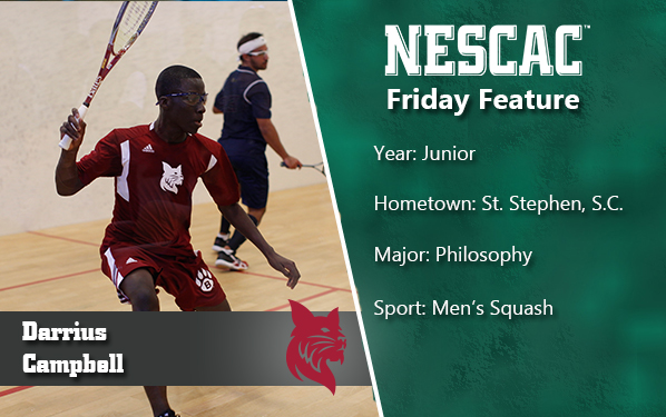 Darrius Campbell in NESCAC Friday Feature