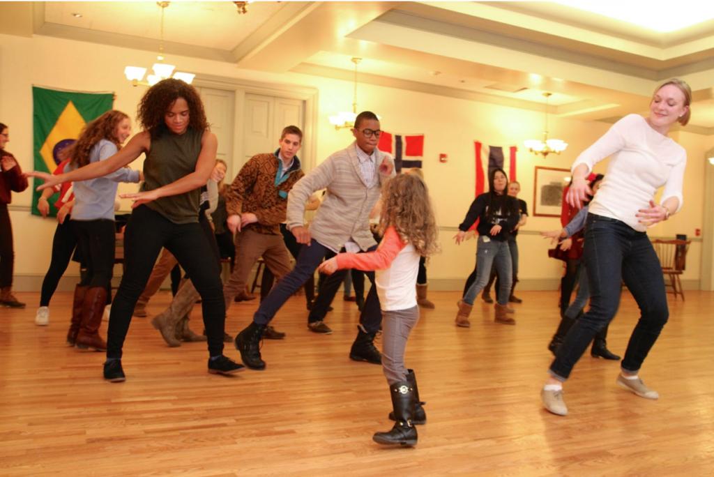 Dancing at last year's International Weekend