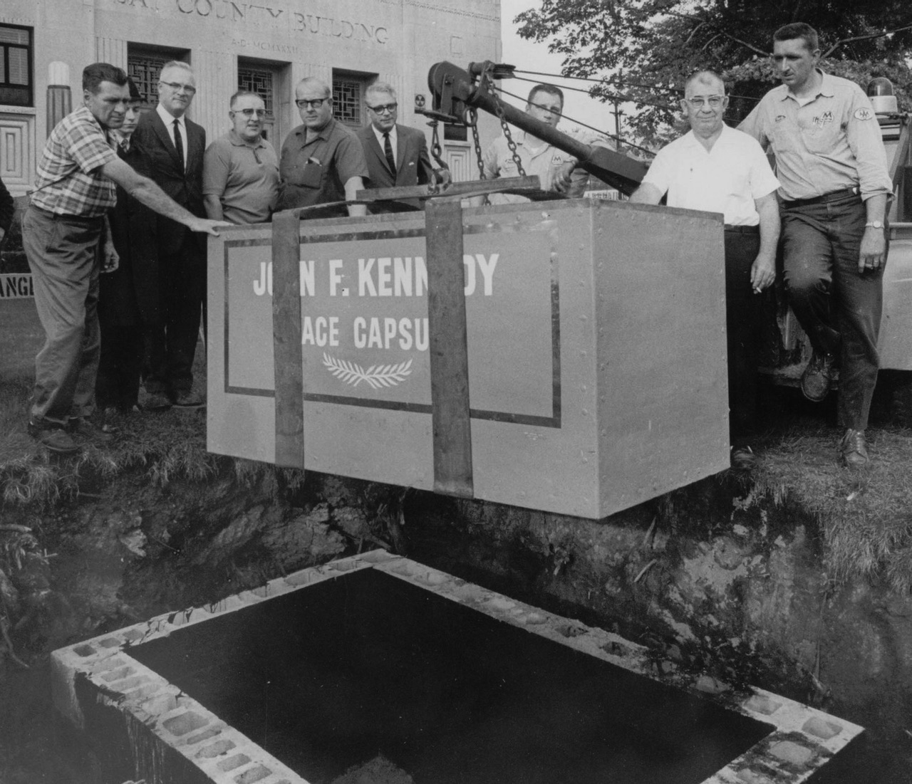 JFK Peace Capsule, 1965, One of the greatest failures in time capsule history
